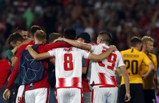 Red Star Belgrade progress in Champions League with away goals as Olympiakos also march on