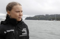 Greta Thunberg reaches New York by yacht after crossing the Atlantic to attend climate summit