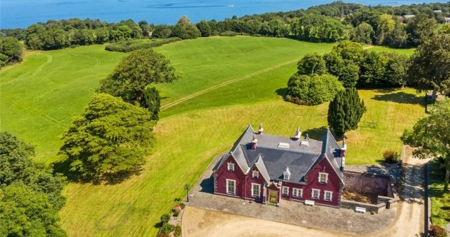 Lakeside mansion fit for a prince with its very own round tower - yours for €1.9m