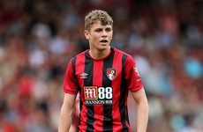 19-year-old Dubliner handed first-ever senior start for Bournemouth