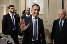 Italy forms new government as Five Star leader signs up for coalition deal with Democratic Party
