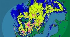 What the fliuch? Here's the latest rainfall radar shot of Ireland