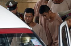 Migrant workers sentenced to death over Thailand murder of British backpackers lose appeal