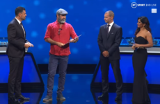 'And so we will become eternal' - Cantona gives bizarre speech at Champions League draw