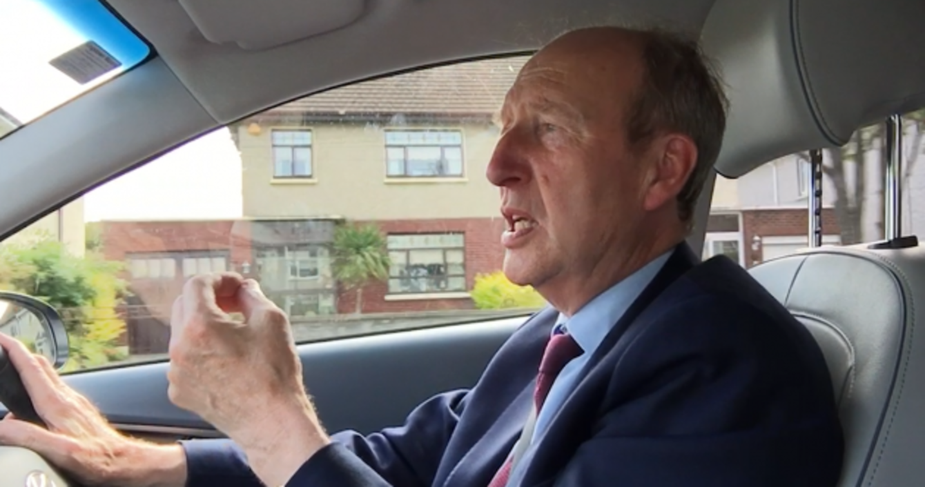 'I Got Into Terrible Trouble': Shane Ross On That Social