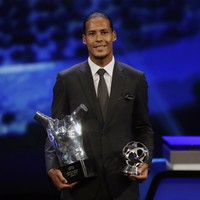 Virgil van Dijk pips Messi and Ronaldo to Uefa Men's Player of the Year award