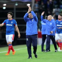Heartbreak for Linfield as Europa League dream ends in Azerbaijan on away goals