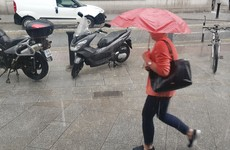 Met Éireann issues Status Yellow warning for half of the country