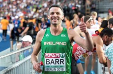 Thomas Barr records his second-fastest time of the season at Zurich 400m hurdles