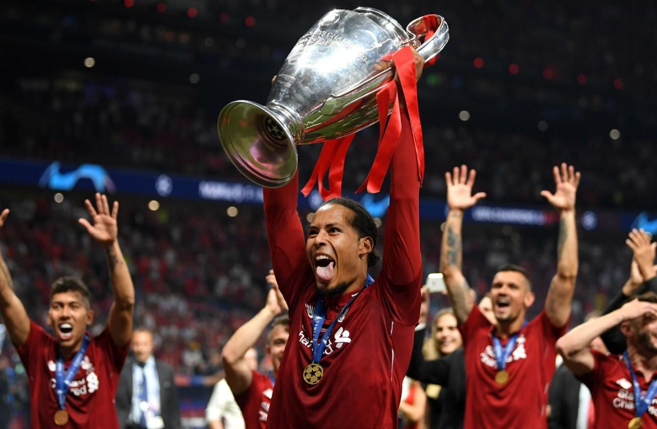 Van Dijk S Uefa Award For All Of Us Klopp The42