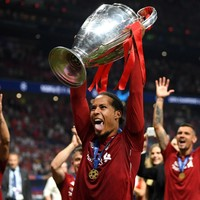 Van Dijk's Uefa award 'for all of us' - Klopp