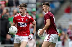 Here are the Cork and Galway sides for Sunday's All-Ireland minor football final