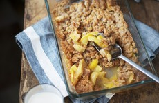 6 of the best... early autumn fruit crumbles for a seasonal sweet treat