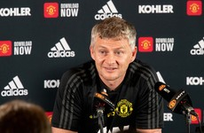 Solskjaer laughs off talk of Man United return for Ibrahimovic