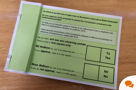 Ireland's constitution has been amended by several referenda.