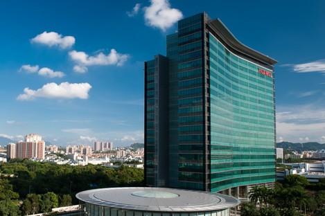 Huawei's headquarters in Shenzhen, China.