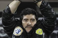 Maradona: Ireland will need 'luck' to emerge from Euro 2012 group