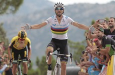Valverde wins mountain-top Vuelta finish but Lopez regains red