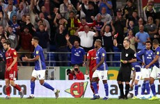 Harry Arter sent off as Cardiff held to draw by 10-man Fulham