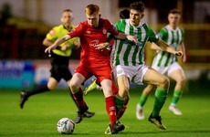 Shelbourne one win away from promotion to top flight