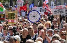 'Boris Johnson shame on you': Thousands across Britain protest against decision to suspend parliament