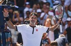 Djokovic and Federer ease through at US Open while Medvedev wins despite meltdown