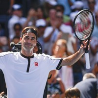 Djokovic and Federer ease through at US Open while Medvedev wins despite meltdown