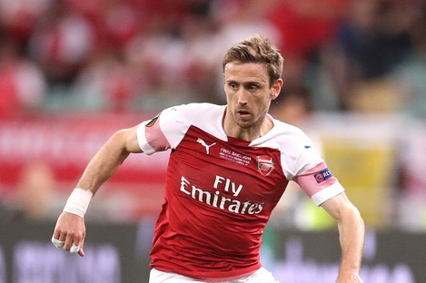 Monreal won three FA Cups during his time with the Gunners.