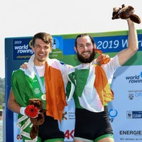 O'Donovan and McCarthy power to double sculls world title
