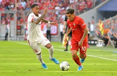 Coutinho earns first start to help Bayern come from behind and smash six past Mainz
