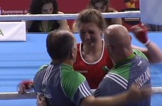 Aoife O'Rourke wins European Championship gold in middleweight thriller