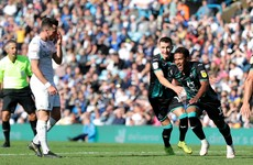 Swansea strike late to edge Leeds in top-of-the-table Championship clash