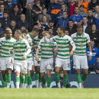 Irish international on target as Celtic end Rangers' 100% start in Old Firm derby