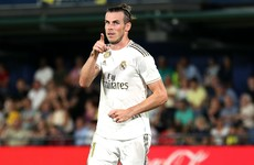 Bale scores twice but then sees red as Real Madrid snatch a draw at Villarreal