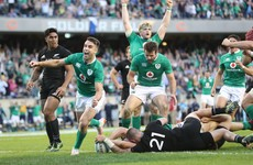 'We had to go out and attack them' - How Ireland made history against the All Blacks in Chicago