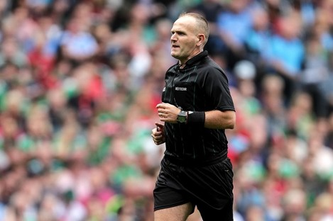 Cork's Conor Lane will be the man in the middle for the replay.