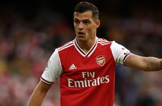 Emery defends Xhaka after heavy criticism of Spurs display