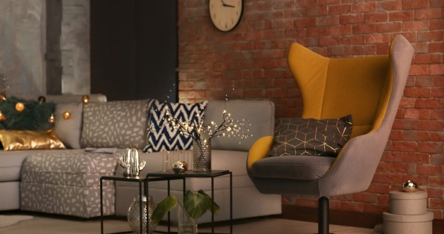 'Use soft lighting to add cosiness': 5 design tips to make a dark living room work in your favour