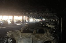 Plan underway to remove 50 cars which were completely destroyed in a Cork shopping centre blaze