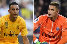 PSG sign €15 million goalkeeper from Real Madrid in swap deal