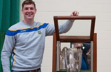 Heartwarming scenes as Tipp's Callanan reunited with Liam MacCarthy cabinet he made in school