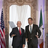 Mike Pence defends choice to stay at Trump's Doonbeg resort despite most meetings taking place in Dublin