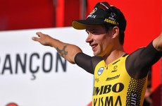 Roglic makes Vuelta statement with crushing time trial win