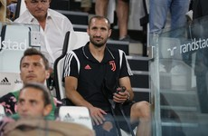 Blow for Juventus as Chiellini ruled out for six months