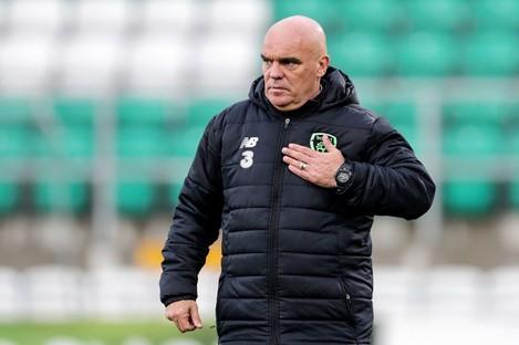 Interim Ireland boss Tom O'Connor.