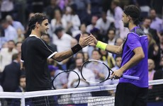 Federer stunned by Dimitrov as he suffers US Open quarter-final defeat