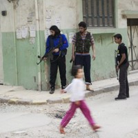 UN observers reach town of reported massacre