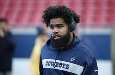 Ezekiel Elliott signs six-year Cowboys deal worth $90m to end 40-day holdout