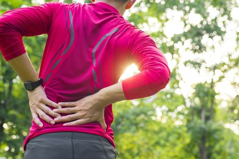 Chronic back pain is a common condition in Ireland.