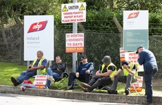 Beef farmers and meat industry set for new talks as protesters in Meath force factory closure